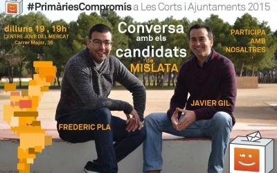 Conversa amb els candidats