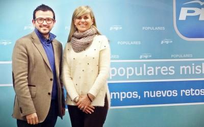 Visita de la consellera Sánchez Zaplana