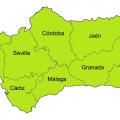 Andalucía Provincias