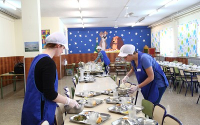 Comedor escolar de Pascua-6