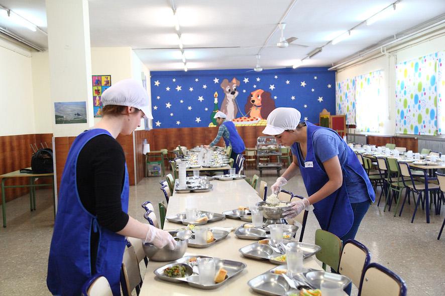 mislata abre un comedor en semana santa para las familias sin recursos