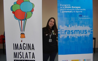 Sandra Martínez - voluntaria Imagina Mislata