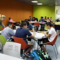 Aula de estudio con monitores Centre Jove del Mercat-1