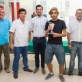 Entrega de premios Torneo de Ajedrez de Mislata - campeón
