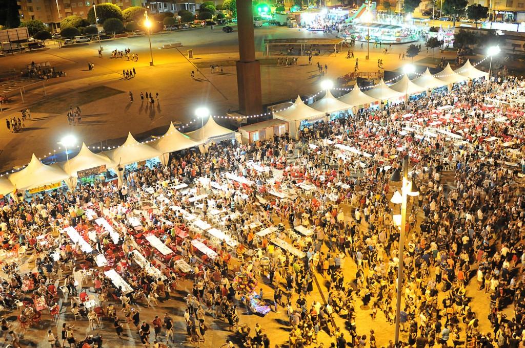 Feria de fiestas Plaza Mayor-2