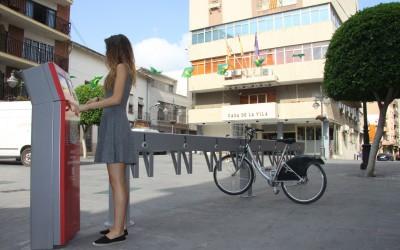 Nueva estación bicis de alquiler en plaza Constitución-1
