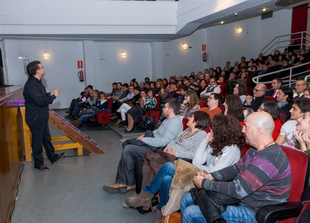 Carles Alberola en el lliurament de premis de 2014