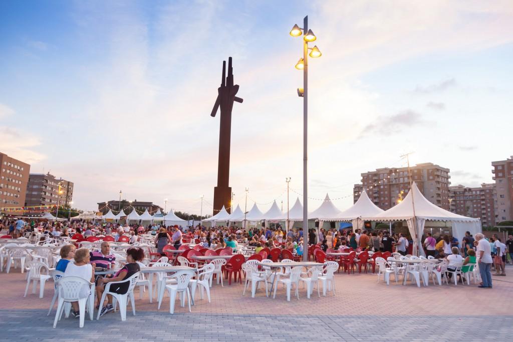 Inauguración feria de fiestas de Mislata-5