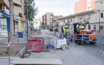 Inicio reurbanización calle Padre Llansol-6
