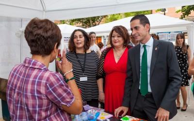 Alcalde, concejala de Comercio y presidenta de ACEM