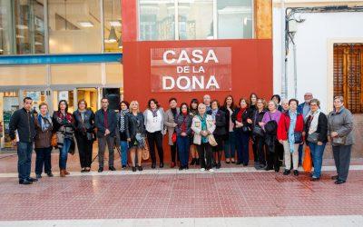 Inauguración Art al Carrer Jornadas contra la violencia de género-1
