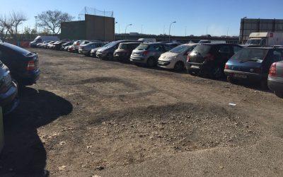 Agujeros aparcamiento