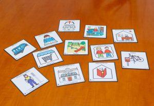 Algunos de los pictogramas que se distribuirán en las dependencias municipales.