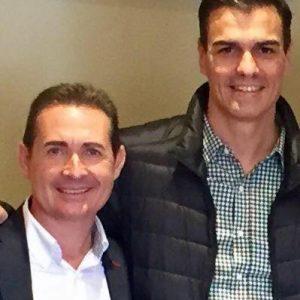 Michel Montaner, alcalde de Xirivella, uno de los destacados apoyos de Pedro Sánchez en la comarca.