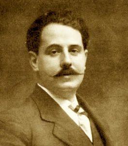 Eduardo Marquina, poeta catalán que verá retirado su nombre de la plaza valenciana.
