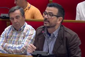 Jaime López Bronchud, portavoz del grupo municipal popular.