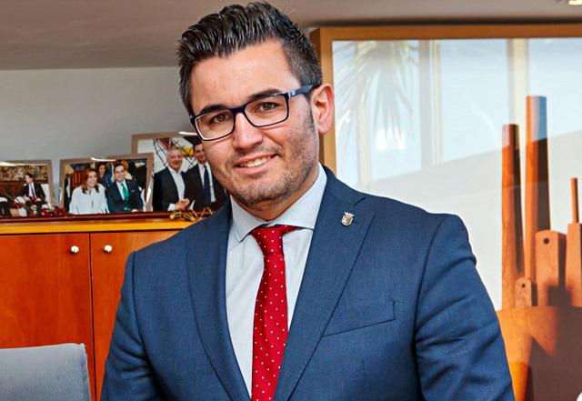 Toni Arenas, concejal de juventud del Ayuntamiento de Mislata.