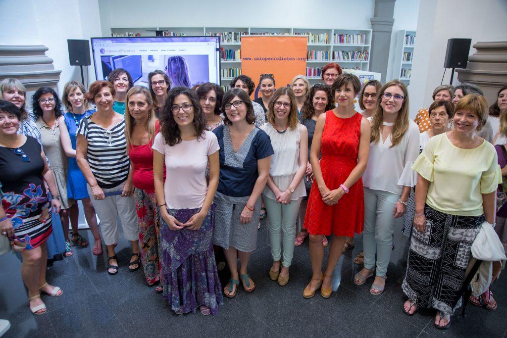 05.07.2017. Valencia. Presentación de la agenda de expertas de la Unió de Periodistas Valencians.  Foto: Biel Aliño/Unio de Periodistes Valencians.